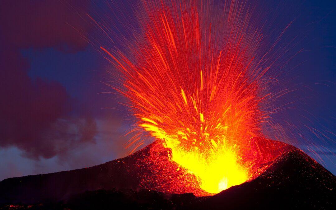Kitörni készülő vagy életet adó vulkán?