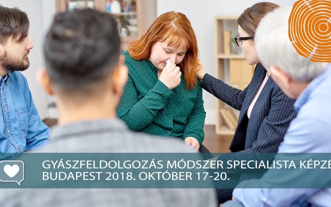 Őszi budapesti Specialista képzés – BETELT!