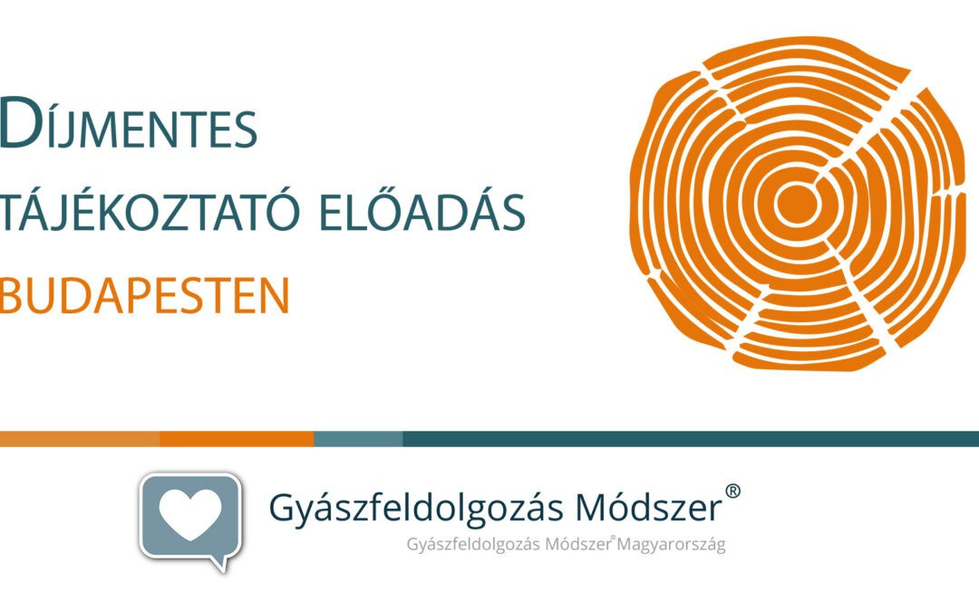 Díjmentes tájékoztató előadás és beszélgetés Budapesten