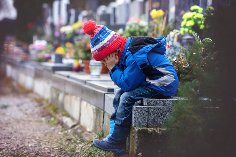 Gyerekek és a gyász