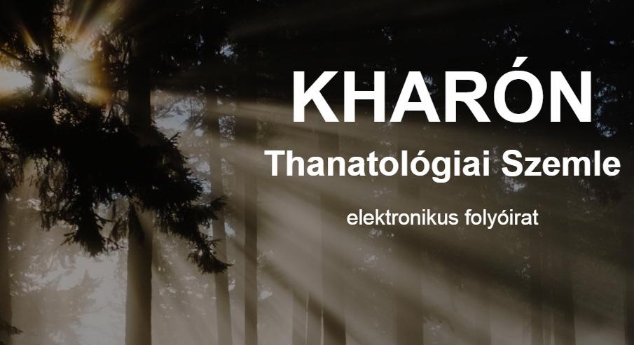 Kharón Thanatológiai Szemle